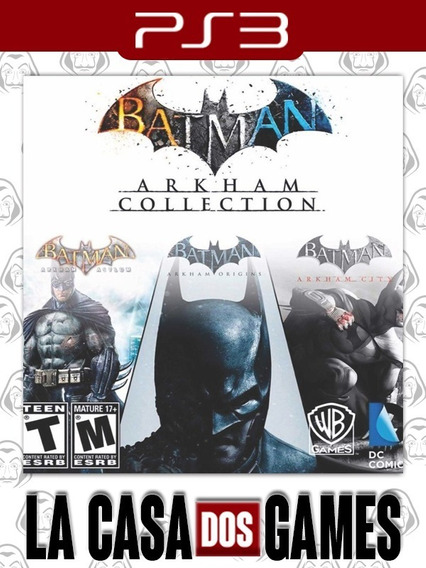 Batman: Arkham Collection - Psn Ps3 - City Asylum E Origins
