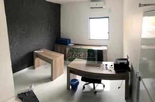 Sala Para Alugar, 50 M² Por R$ 1.600,00/mês - Santa Etelvina - Manaus/am - Sa0376