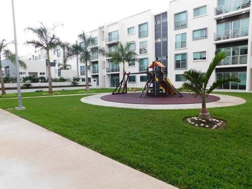 Renta Departamento En Cancún Planta Baja 3 Recámaras