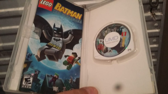 Jogo Umd Psp - Lego Batman - The Videogame Semi Novo