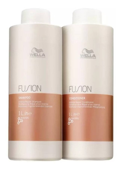 Wella Professionals Fusion Shampoo 1l + Condicionador 1l