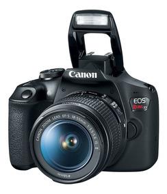 Câmera Canon Eos Rebel T7 18-55mm Is Il + Lente Canon 50mm