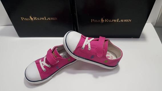 Sapato Polo Ralph Lauren Active Pink/multi Original