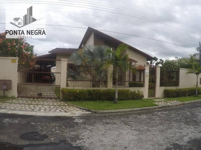 Casa No Residencial Ponta Negra 01 - Ca0025