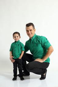 Kit Camisas Social Tal Pai Tal Filho