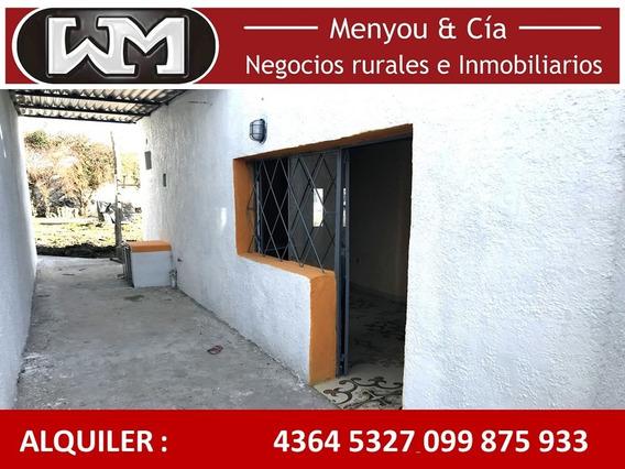 Alquiler Casa Trinidad Flores 1 Dormitorio Cochera Patio