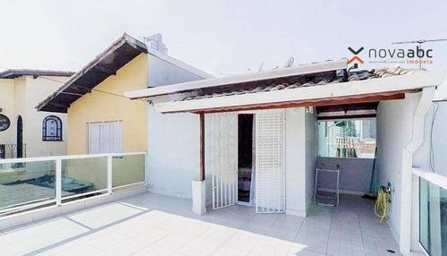 Sobrado Com 3 Dormitórios À Venda, 220 M² Por R$ 890.000,00 - Campestre - Santo André/sp - So0926
