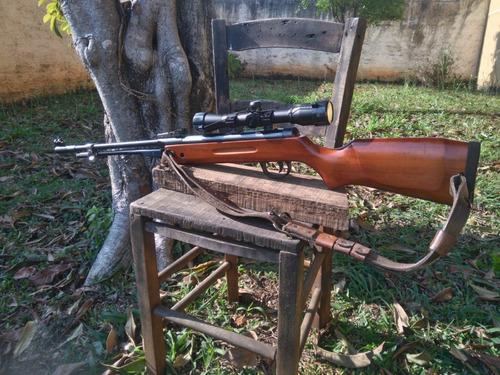 Qgk Ml Classica 5,5mm Carabina De Pressão (mola) (+) Luneta