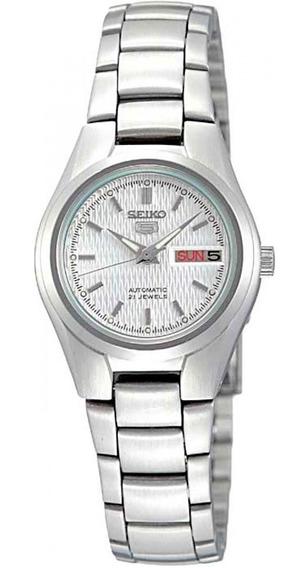 Relógio Seiko Feminino Automático Symc07b1 B1sx Dm 23,81mm