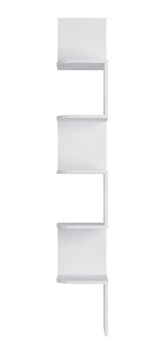 Prateleira Nicho Canto Grande Decorativo 158x25 Branco