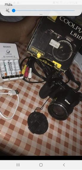 Vendo Câmera Semi Profissional Nikon Coolpi/l810