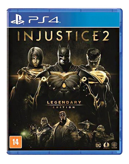 Injustice 2 Legendary Edition - Ps4 - Novo - Português