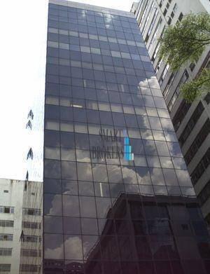 Sala Para Alugar, 164 M² Por R$ 11.485,60/mês - Consolação - São Paulo/sp - Sa0364