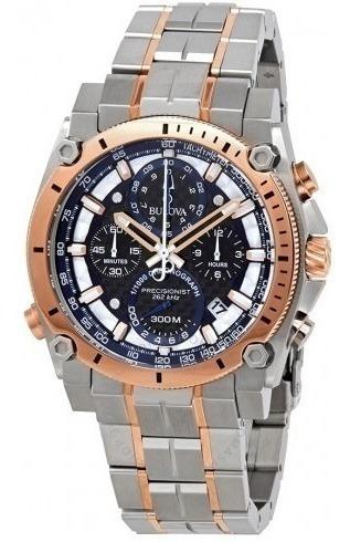 Relógio Bulova Masculino Precisionist Chronograph Black