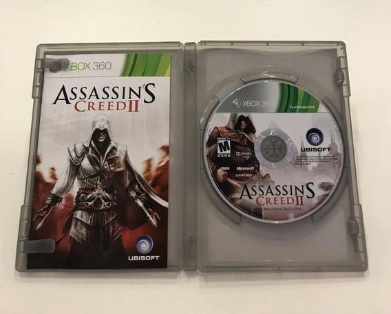 Jogo Xbox 360 Assassins Creed 2 Mídia Física Original
