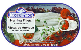 Filetes De Arenque En Salsa De Tomate 200gr - Tienda Chaia