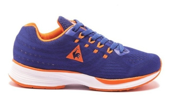 Zapatillas Niñas Le Coq Sportif Fierce Jr Navy Orange