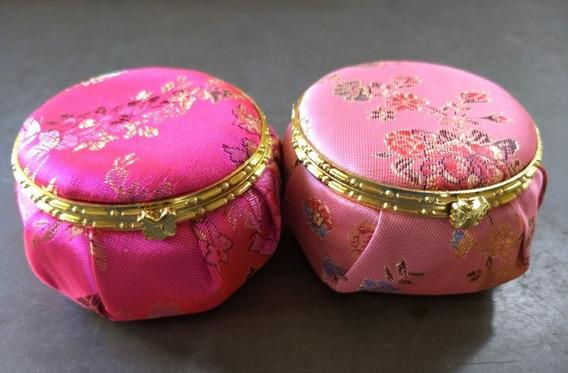 Kit 25 Mini Porta-jóias De Tecido