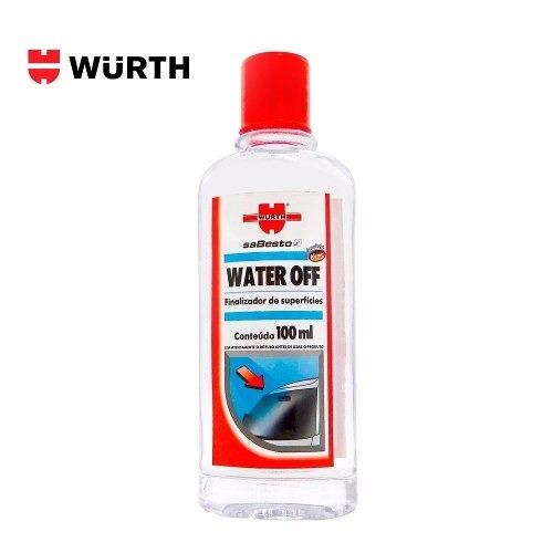 Cristalizador De Para Brisa E Vidros 100ml Wurth Water Off