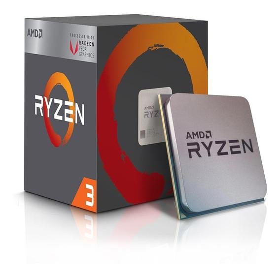 Processador Am4 Ryzen 3 R3 2200g Quad Core 3.5ghz/6mb Amd