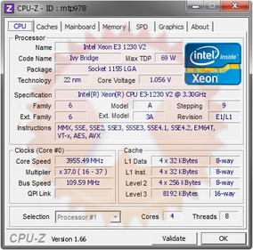 Processador Xeon E3 1230 V2