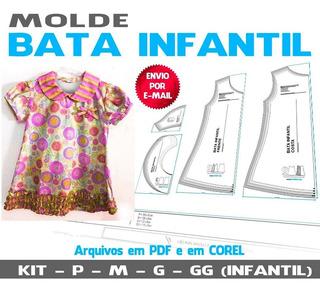 Molde Batinha Infantil (em Pdf E Em Corel)