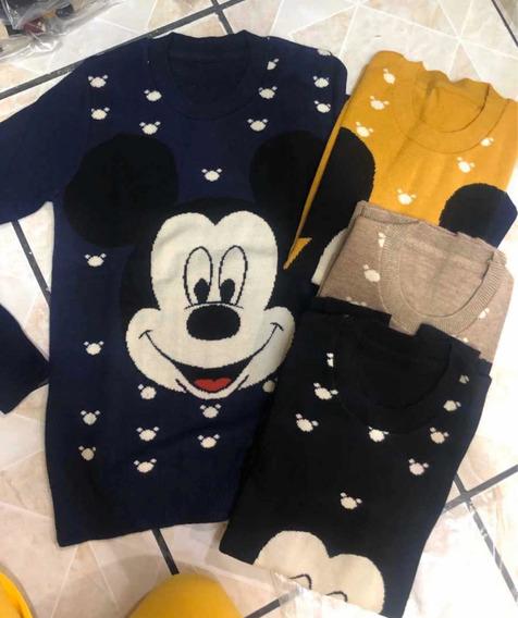 Suéter Juvenil Mickey