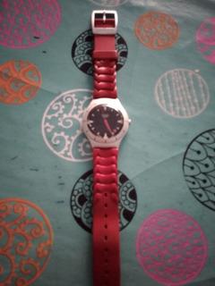 Reloj Swatch Irony Rojo
