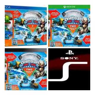 Kit Skylanders Starter Pack Trap Team Ps4 Ps3 Xbox One Novo