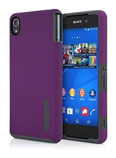 Incipio Dualpro - Carcasa Para Sony Xperia Z3 V Color Morado