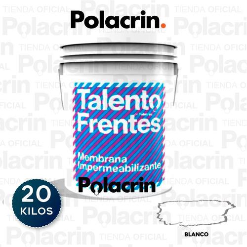 Pintura Impermeabilizante Polacrin Frentes Muros 25 Talento