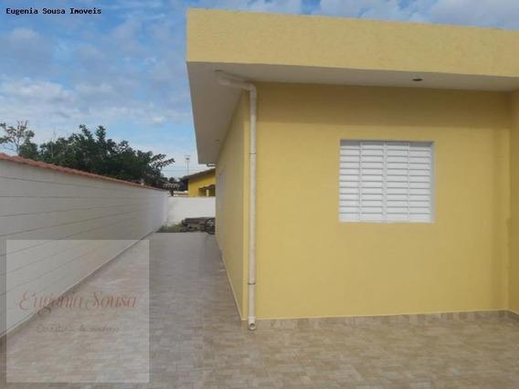 Casa Para Venda Em Itanhaém, Jd Magalhães, 1 Dormitório, 1 Banheiro, 2 Vagas - Ca112