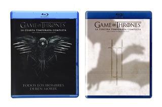 Game Of Thrones Juego Tronos Temporadas 3 4 Blu-ray