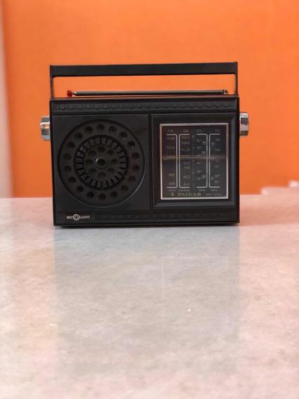 Rádio Motoradio 4 Faixas .