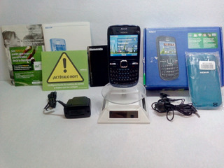 Nokia C3 Movistar Azul