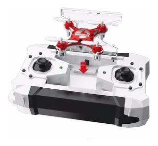 Mini Drone Acrobático Con Auto Regreso 12 Hélices +protector