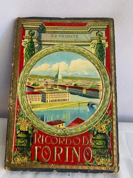 Antigua Colección De Postales De Torino Italia