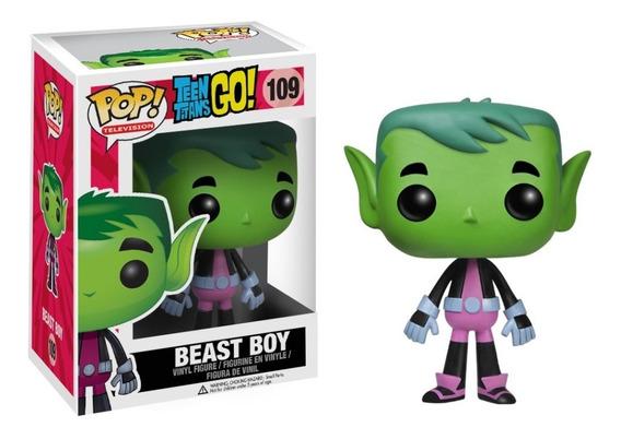 Funko Pop Teen Titans Go! Beast Boy 109