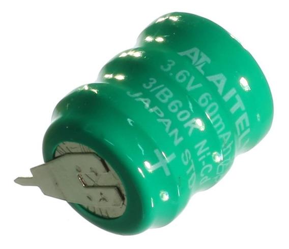 2 * Bateria Recarregável Nicd 3,6v 60mah Para Placa