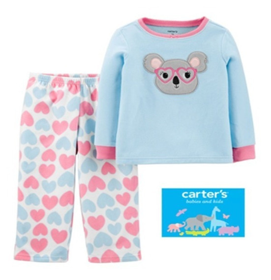 Carter´s Pijama Para Niña 2, 4, 5 Y 7 Años Modelo Koala