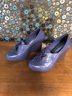 Zapatos Melissa De Plástico Con Cordón. Único Par