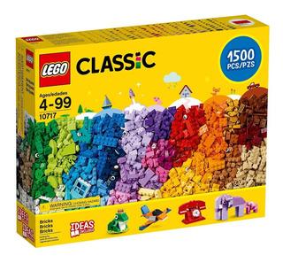 Lego Classic 10717 Clasico Bloques 1500 Piezas Nuevo