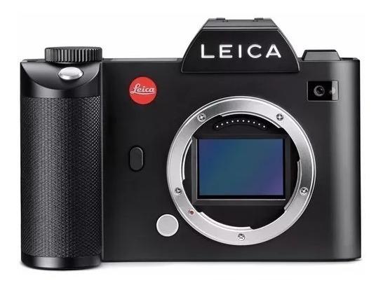 Leica Sl+flash Sf64+ Lente 24-90 + Handgrip - Quase Nova!!! - 12 X Iguais