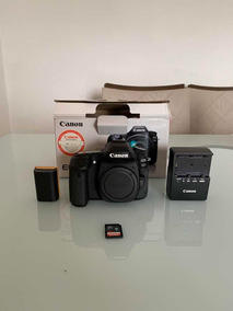 Câmera Canon 80d (corpo)