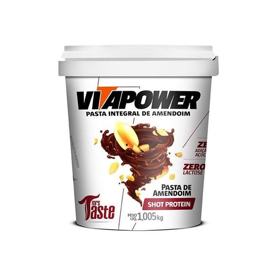 Pasta De Amendoim - Vitapower 1kg - Sabores Premium