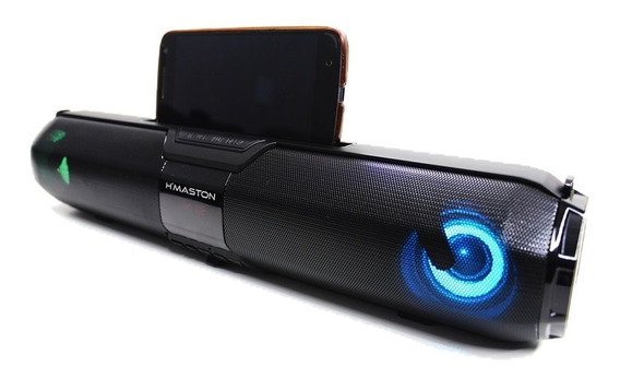 Caixa Som Bluetooth Usb Micro Sd Radio Fm Aux Mic - Hmaston