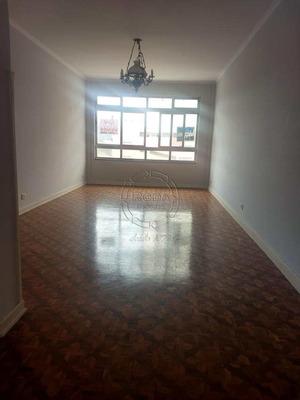 Apartamento Com 3 Dorms, Ponta Da Praia, Santos - R$ 530.000,00, 110m² - Codigo: 12189 - V12189