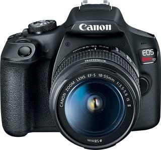 Canon Rebel T7 Kit 18-55mm Is Ii Nfc Wi-fi 24mp Full Hd Cmos