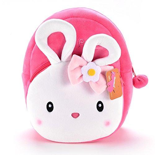 Gloveleya Bunny Plush - Mochila Para Niños Con Moño Y Laz