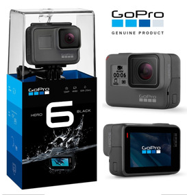 Go Pro Hero 6 Black Original + Películas + Frete Grátis